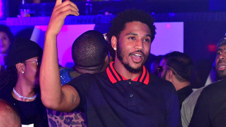 Trey Songz Hosts Gold Room