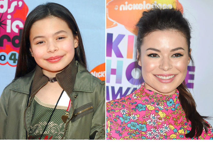 nickelodeon stars then and now