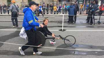 Boston Marathon - 2019 Boston Marathon Women's Wheelchair Winner: Manuela Schär