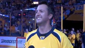 Latest - Luke Bryan sings national anthem before Predators & Blackhawks game