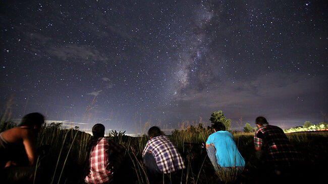 MYANMAR-ASTRONOMY-METEOR-SHOWER-PERSEIDS