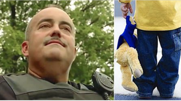 Mat Mitchell - Cop Sees Boy Alone In Public With A Teddy Bear, Then Realizes He's Trying To Sell It For Food