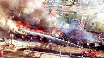KFI Online Museum - KFI in the Middle of a Firestorm - A look back on KFI's coverage during the 1992 LA Riots