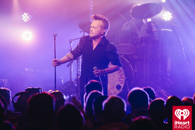 John Mellencamp onstage during his iHeartRadio ICONS show at the iHeartRadio Theater in NYC on April 27, 2017.  <p><span style=