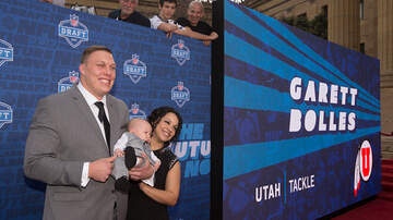 Tell Me Something Good - NFL PICK STEALS THE SHOW WITH INFANT SON