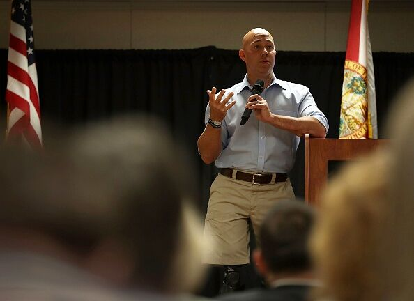 Florida GOP Rep. Brian Mast Holds Town Hall In Fort Pierce