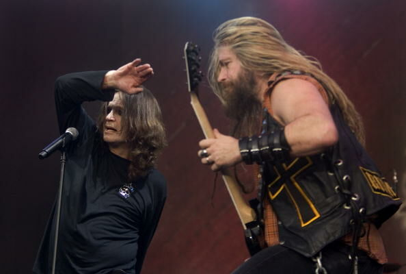 Photo of Zakk WYLDE and Ozzy OSBOURNE