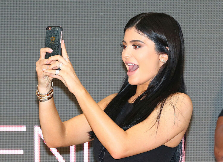 Kendall and Kylie Jenner Launch Kendall+Kylie at Forever New