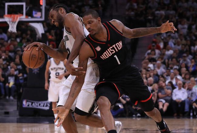 Houston Rockets v San Antonio Spurs - Game One
