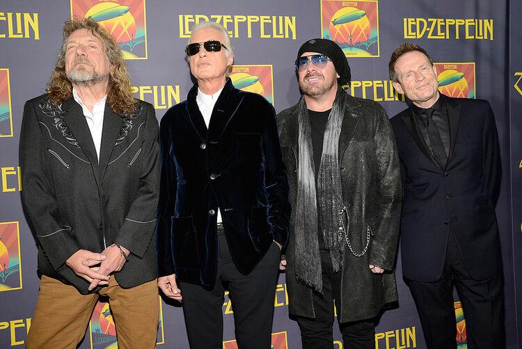 The New York City Premiere For Led Zeppelin Celebration Day