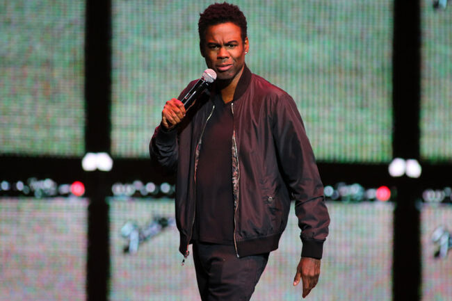 Chris Rock performs at Hard Rock Live at the Seminole Hard Rock Hotel and Casino in Hollywood, FL