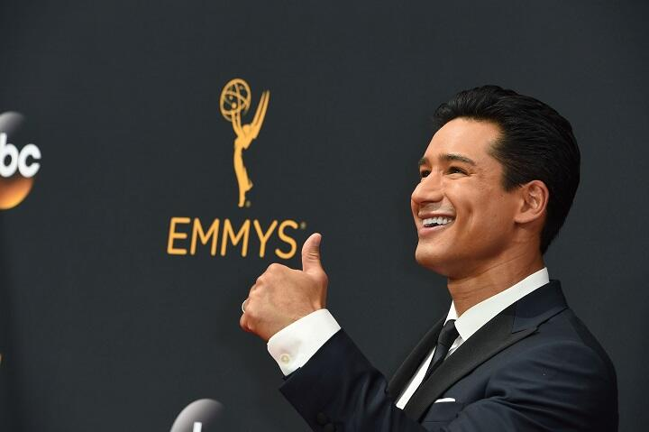 Actor Mario Lopez arrives for the 68th Emmy Awards on September 18, 2016 at the Microsoft Theatre in Los Angeles.  / AFP / Robyn Beck        (Photo credit should read ROBYN BECK/AFP/Getty Images)