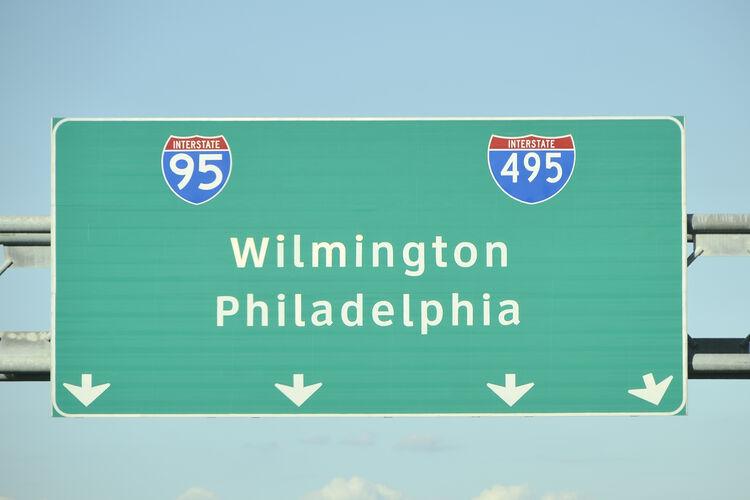 Wilmington, Philadelphia Sign