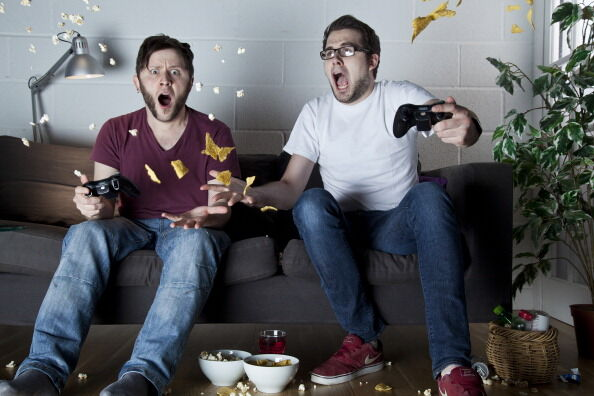 Video Games Sofa Shoot