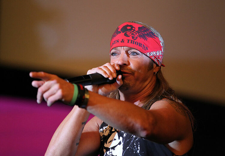 Bret Michaels Performs At The D Las Vegas To Celebrate Grand Opening