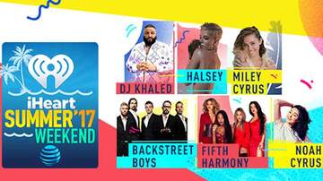 iHeartRadio Summer Pool Party - iHeartSummer '17 Weekend By AT&T: DJ Khaled, Halsey, Miley Cyrus & More