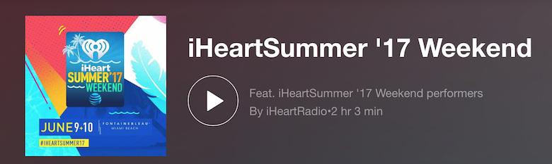 iHeartSummer Playlist