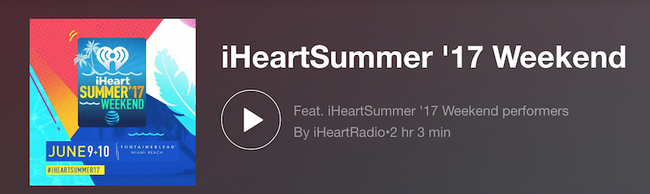 iHeartSummer Playlist