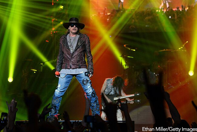 Axl Rose/ Getty Images