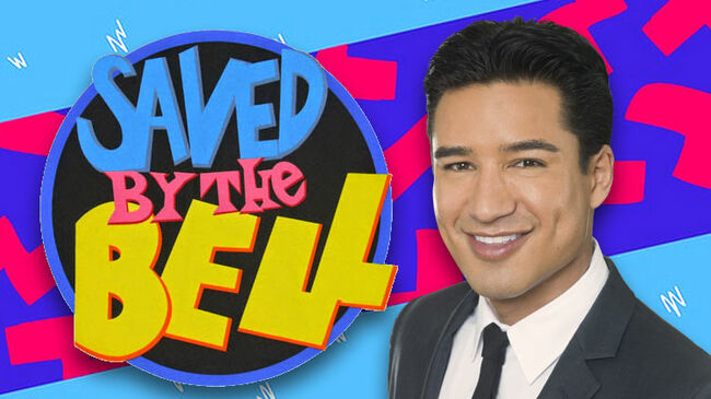 Mario Lopez Saved By The Bell