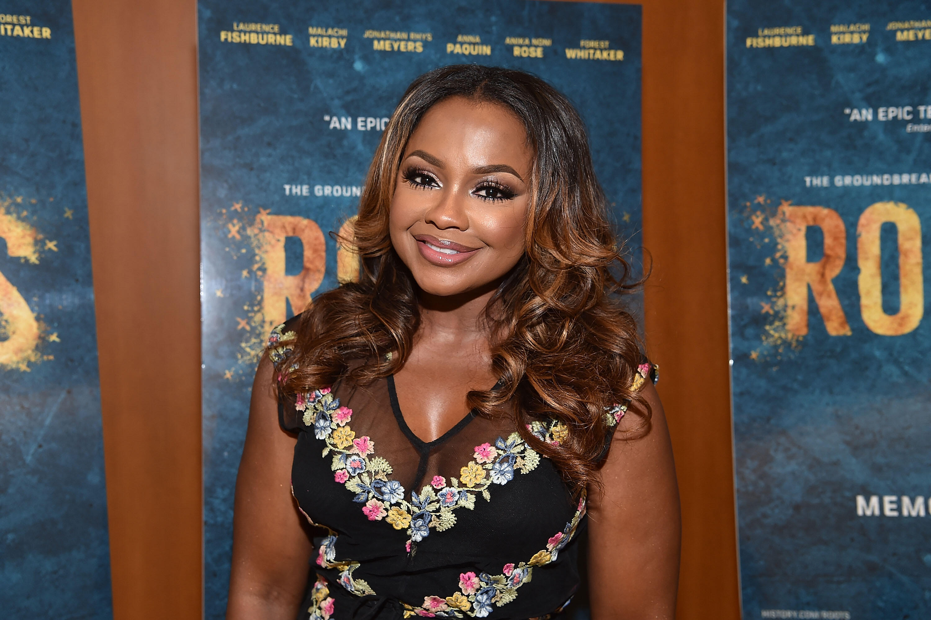 ATLANTA, GA - MAY 09:  (EXCLUSIVE COVERAGE) TV personality Phaedra Parks attends HISTORY's