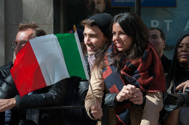 Annual Columbus Day Parade Held In New York