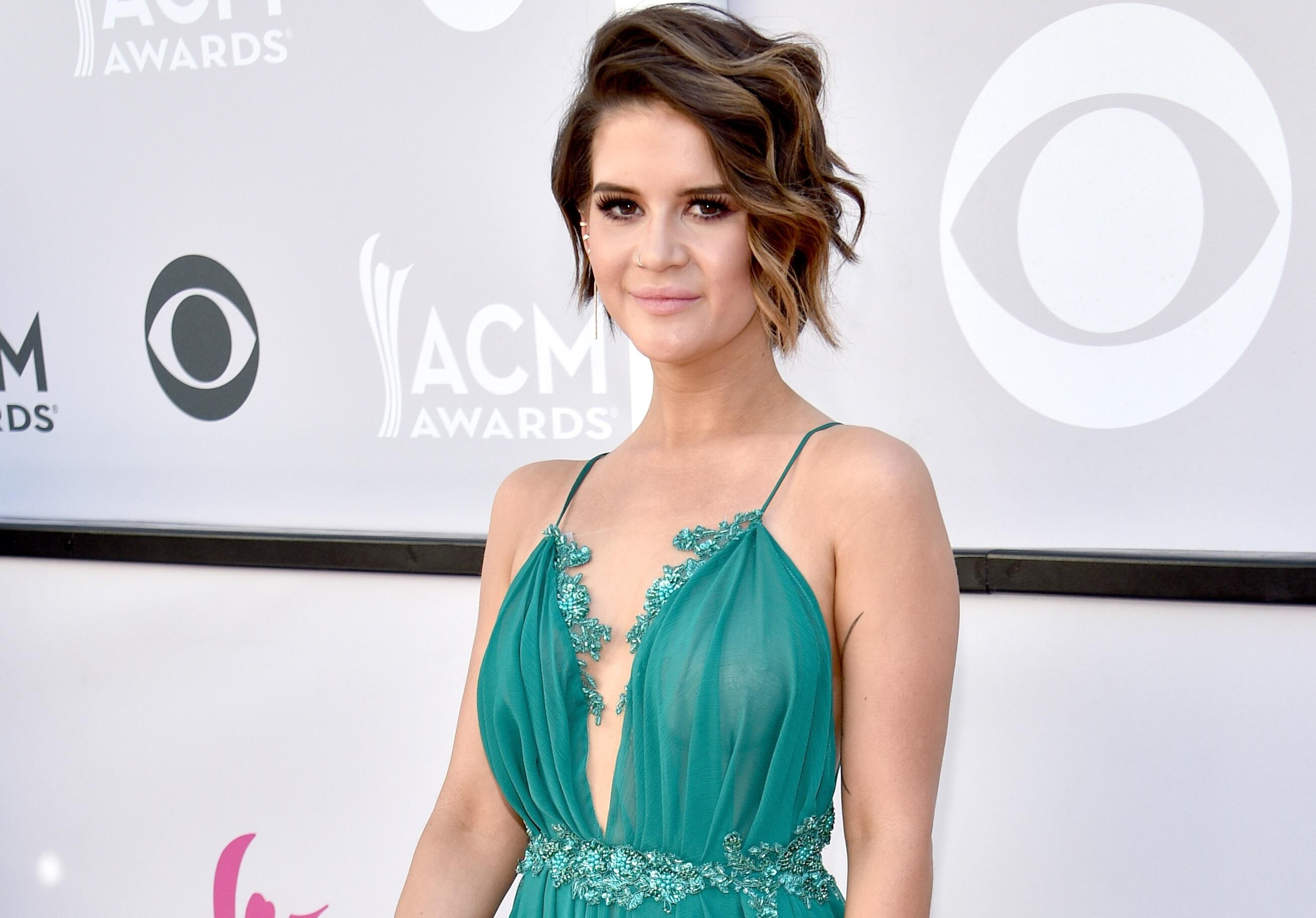 LAS VEGAS, NV - APRIL 02:  Recording artist Maren Morris attends the 52nd Academy Of Country Music Awards at Toshiba Plaza on April 2, 2017 in Las Vegas, Nevada.  (Photo by Kevin Mazur/ACMA2017/Getty Images for ACM)