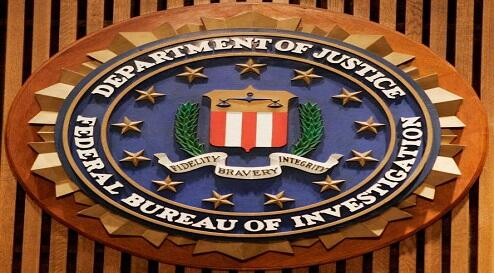 WASHINGTON - JULY 26: The Federal Bureau of Investigation seal is shown at the FBI Headquarters July 26, 2006 in Washington, DC. FBI Director Robert Mueller  announced structural changes to support the next phase of the FBI's transformation efforts.  (Pho