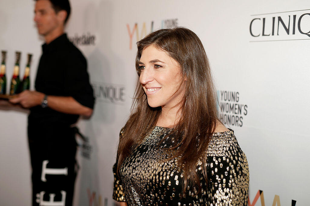 MARINA DEL REY, CA - NOVEMBER 19:  Actress Mayim Bialik attends Marie Claire Young Women's Honors presented by Clinique at Marina del Rey Marriott on November 19, 2016 in Marina del Rey, California.  (Photo by Rich Polk/Getty Images for Young Women's Honors )