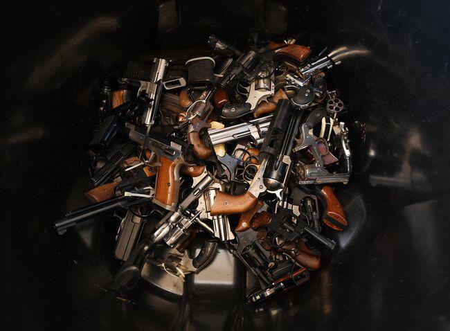 US-POLICE-GUN-BUYBACK