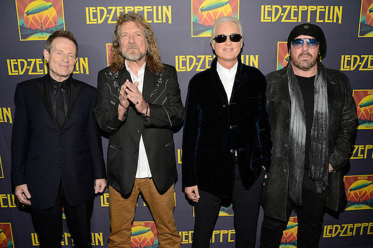 The New York City Premiere For Led Zeppelin Celebration Day