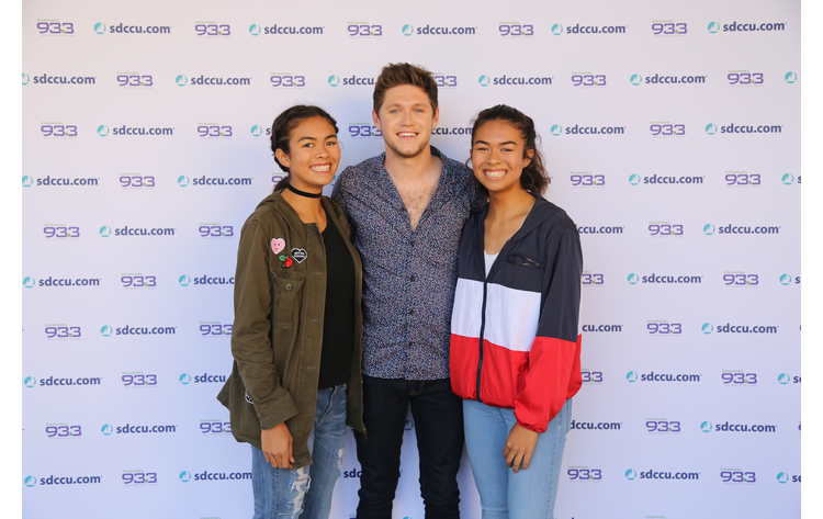 Niall horan meet and greet at our summer kick off concert channel 933 niall horan got a chance to meet some fans at our summer kick off concert presented by sdccu on may 12 2017 m4hsunfo