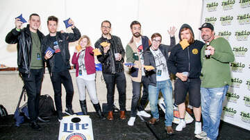 Birthday Show - Bastille Plays Cornhole Backstage with Fans at the 10th Birthday Show