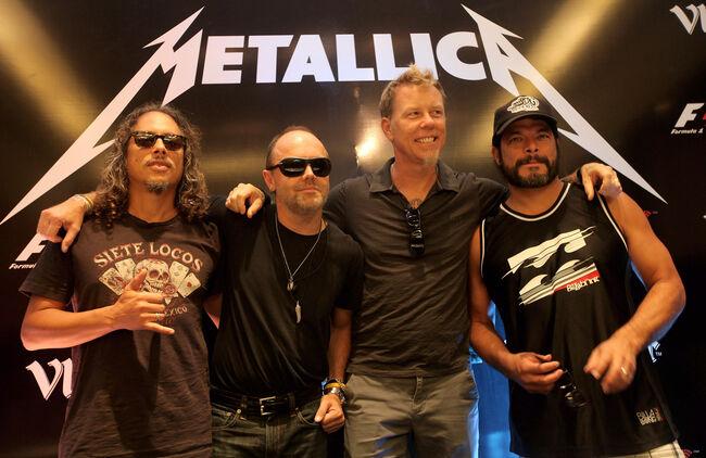 F1 Rocks in India with Vladivar - Metallica Concert