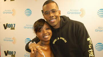 Photos: Lounge - Mario in the V100.7 AT&T Access Granted Lounge 5-15-17