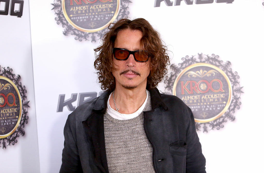 LOS ANGELES, CA - DECEMBER 13:  Musician Chris Cornell attends 106.7 KROQ Almost Acoustic Christmas 2015 at The Forum on December 13, 2015 in Los Angeles, California.  (Photo by Jesse Grant/Getty Images for CBS Radio)