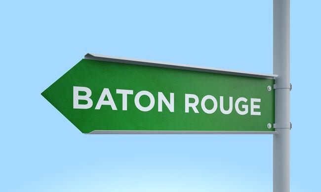 Green signpost baton rouge