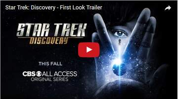 Todd Berry - MUST SEE: New Trailer for STAR TREK DISCOVERY