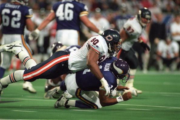 1994 NFC Wild Card Playoff Game - Chicago Bears v Minnesota Vikings