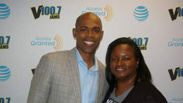 Photos: Lounge - Dr. Ian Smith in the V100.7 AT&T Access Granted Lounge