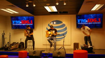 FM106.1 AT&T Access Granted Lounge - Michael Tyler in the FM106.1 AT&T Access Granted Lounge - 5/18