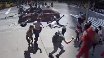 Rafferty - Shocking Video of Times Square Vehicle Attack