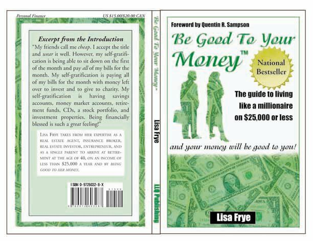 Be Good To Your Money Book