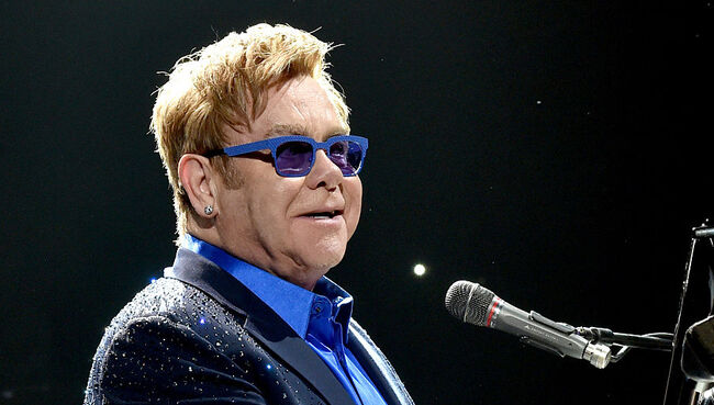 Elton John Performs At The Staples Center