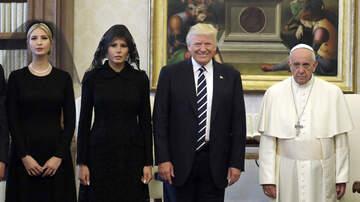 Angel Johnny - Donald Trump visita El Vaticano