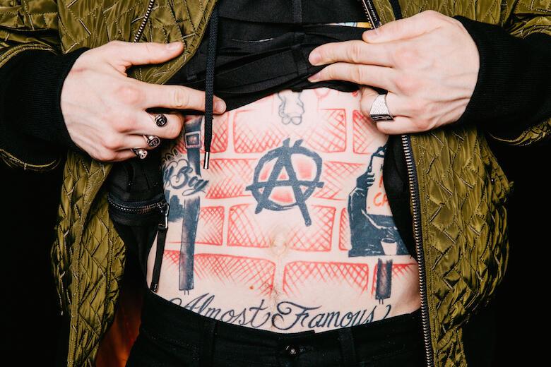 Interview Tattoo Stories With Machine Gun Kelly Iheartradio