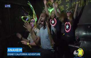Crystal Perez - VIDEO: News Reporter Freaks Out On 'Guardians of The Galaxy' Ride at Disneyland