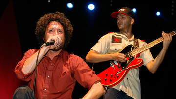 image for Rage Against The Machine: reuniting in 2020.