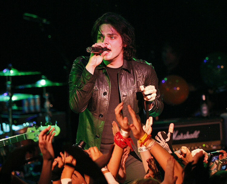 My Chemical Romance Performs at The Roxy Theatre