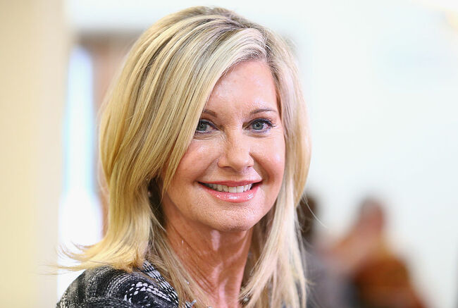 Olivia Newton John Opens Cancer & Wellness Centre At Austin Hosptial